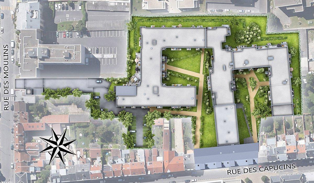 résidence étudiante Capucins Reims