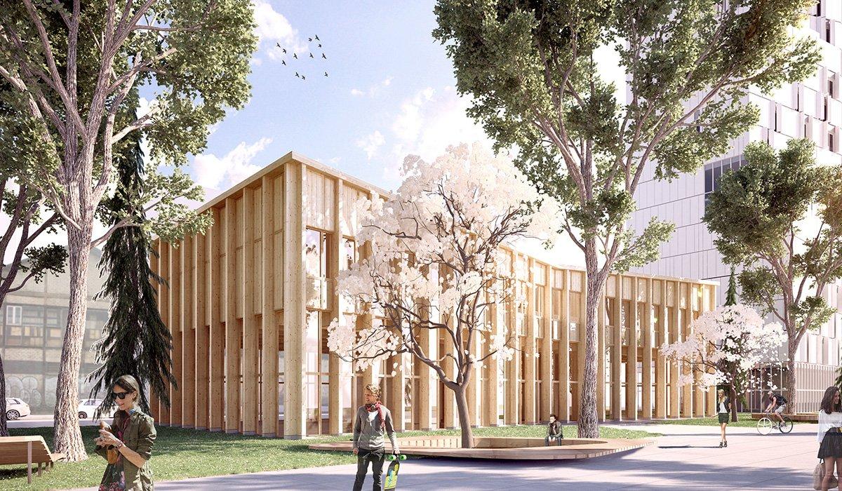 Campus Condorcet Espace associatif et culturel